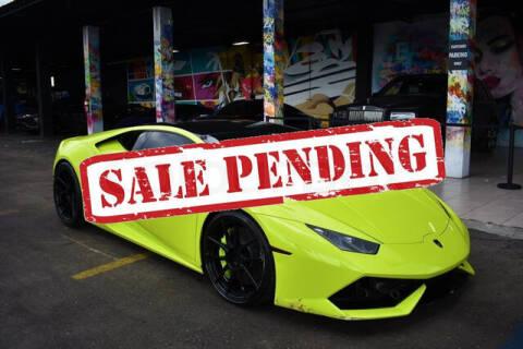 2015 Lamborghini Huracan for sale at ELITE MOTOR CARS OF MIAMI in Miami FL