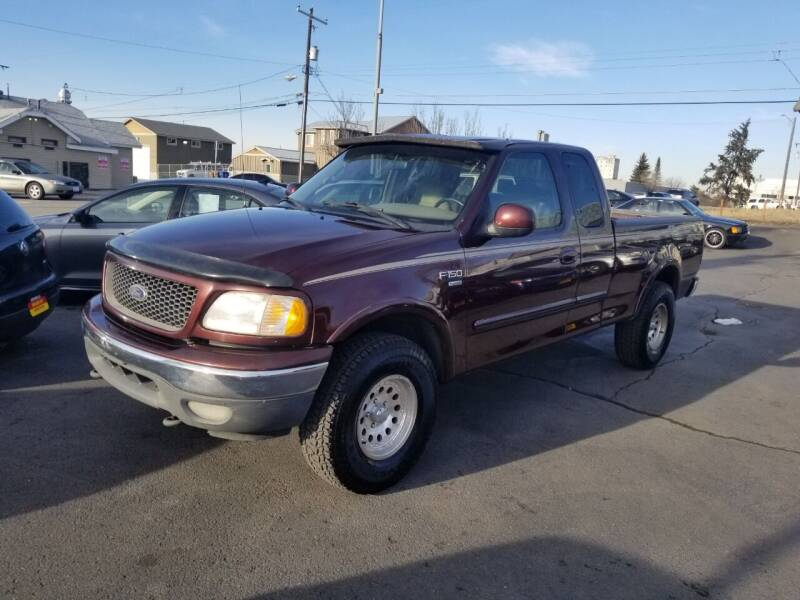 2000 Ford F-150 for sale at Cool Cars LLC in Spokane WA