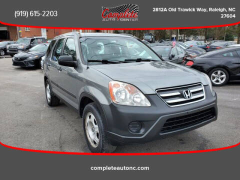 2006 Honda CR-V for sale at Complete Auto Center , Inc in Raleigh NC