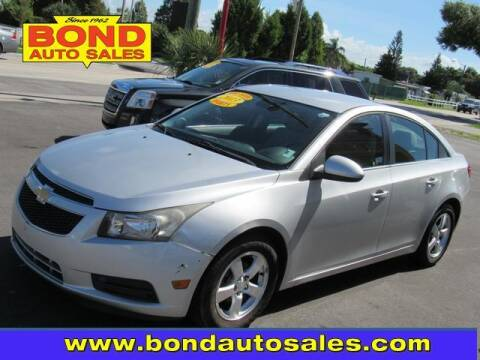 2013 Chevrolet Cruze for sale at Bond Auto Sales in St Petersburg FL