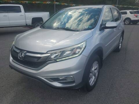2015 Honda CR-V for sale at Mulligan's Auto Exchange LLC in Paxinos PA