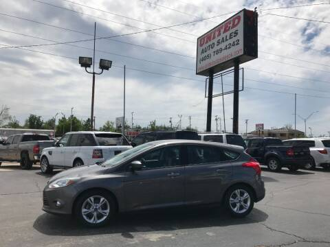 2012 Ford Focus for sale at United Auto Sales in Oklahoma City OK