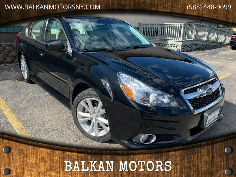 2014 Subaru Legacy for sale at BALKAN MOTORS in East Rochester NY