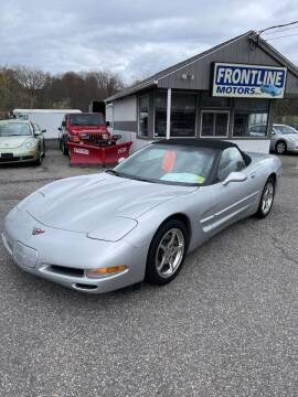 2001 Chevrolet Corvette for sale at Frontline Motors Inc in Chicopee MA