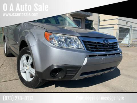 2010 Subaru Forester for sale at O A Auto Sale in Paterson NJ