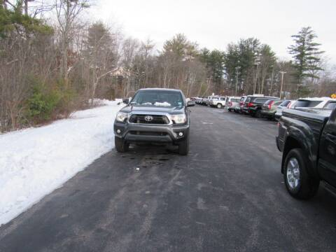 2015 Toyota Tacoma for sale at Heritage Truck and Auto Inc. in Londonderry NH