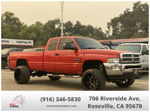 2000 Dodge Ram Pickup 2500 for sale at OT CARS AUTO SALES in Roseville CA