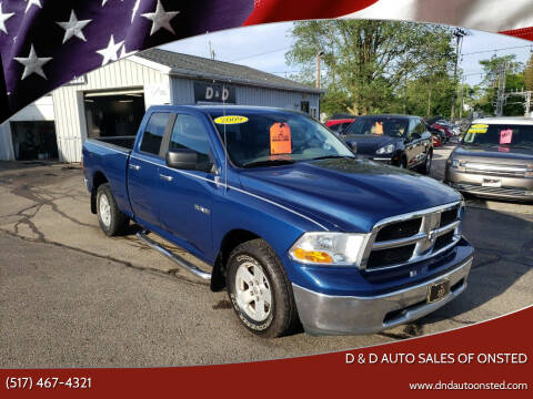 2009 Dodge Ram Pickup 1500 for sale at D & D Auto Sales Of Onsted in Onsted MI