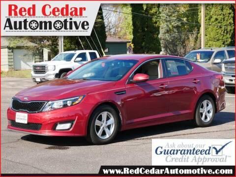 2015 Kia Optima for sale at Red Cedar Automotive in Menomonie WI