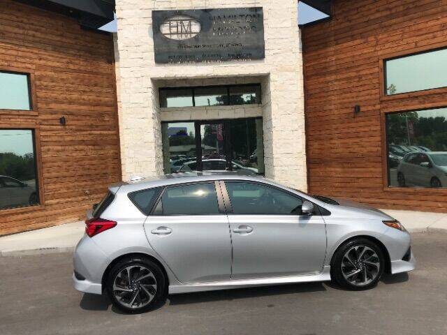 2017 Toyota Corolla iM for sale at Hamilton Motors in Lehi UT