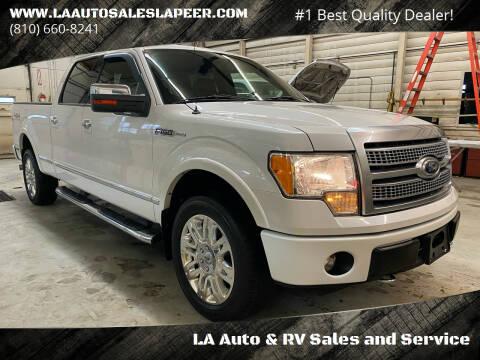 2011 Ford F-150 for sale at LA Auto & RV Sales and Service in Lapeer MI