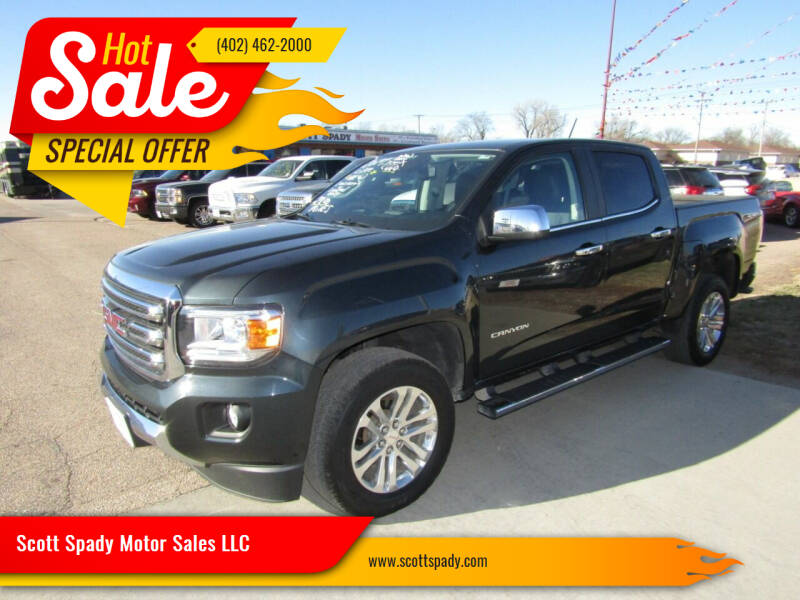 2017 GMC Canyon for sale at Scott Spady Motor Sales LLC in Hastings NE