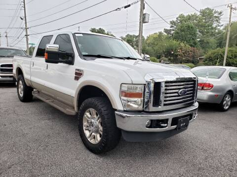 2010 Ford F-250 Super Duty for sale at M & A Motors LLC in Marietta GA