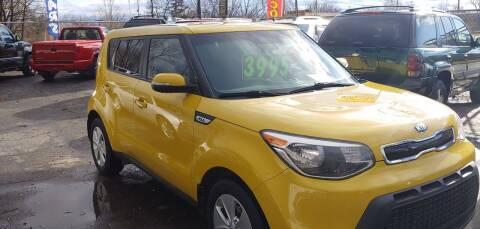 2014 Kia Soul for sale at Superior Motors in Mount Morris MI