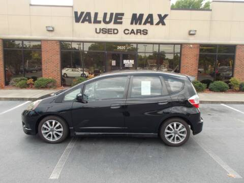 2012 Honda Fit for sale at ValueMax Used Cars in Greenville NC