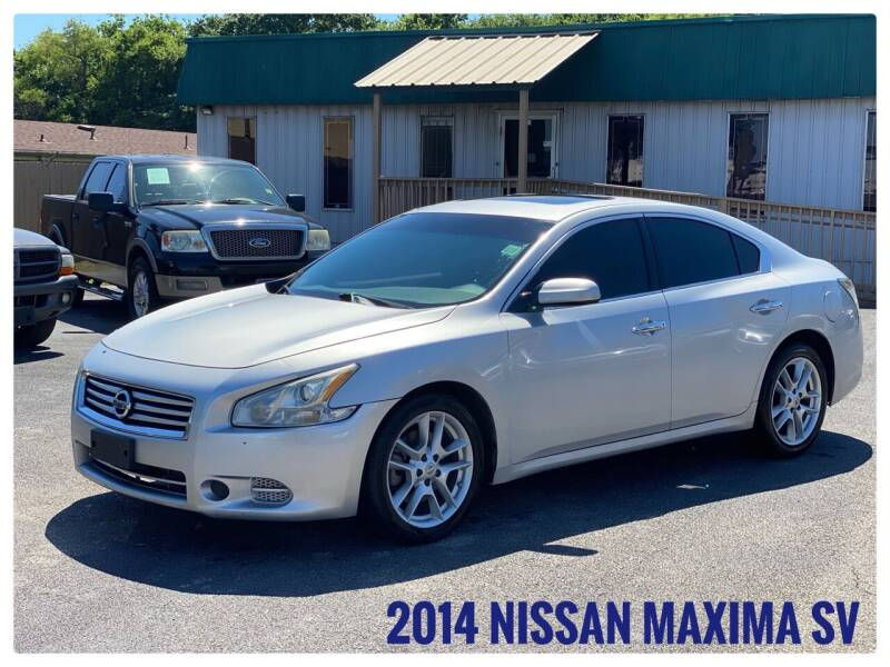 2014 Nissan Maxima for sale at ASTRO MOTORS in Houston TX