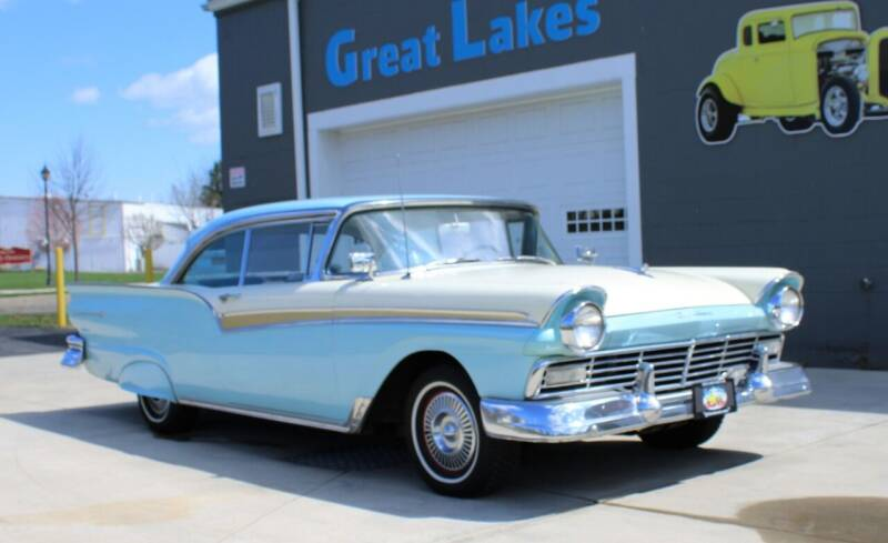 1957 Ford Fairlane 500 for sale at Great Lakes Classic Cars & Detail Shop in Hilton NY
