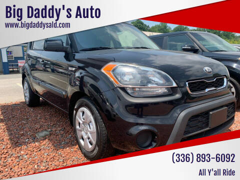 2013 Kia Soul for sale at Big Daddy's Auto in Winston-Salem NC