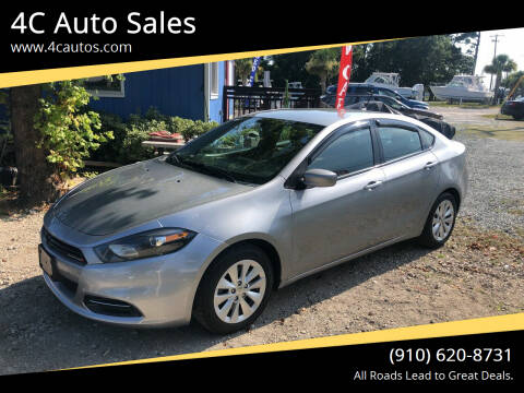 2014 Dodge Dart for sale at 4C Auto Sales in Wilmington NC