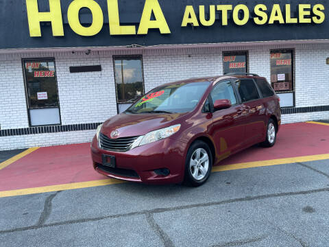 2012 Toyota Sienna for sale at HOLA AUTO SALES CHAMBLEE- BUY HERE PAY HERE - in Atlanta GA