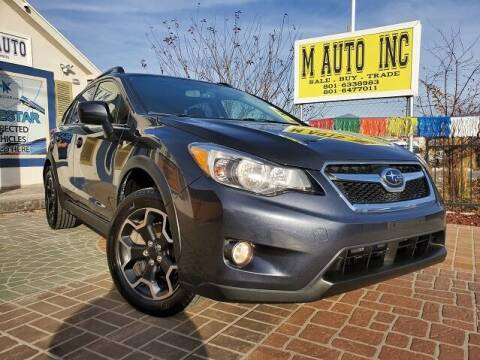 2014 Subaru XV Crosstrek for sale at M AUTO, INC in Millcreek UT