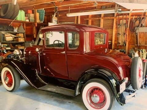 1930 Ford Model A for sale at SODA MOTORS AUTO SALES LLC in Newport RI