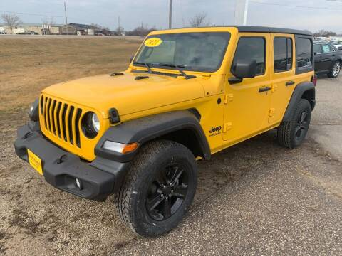 2021 Jeep Wrangler Unlimited for sale at Northland Auto in Humboldt IA
