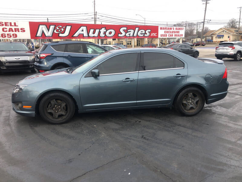 2011 Ford Fusion for sale at N & J Auto Sales in Warsaw IN