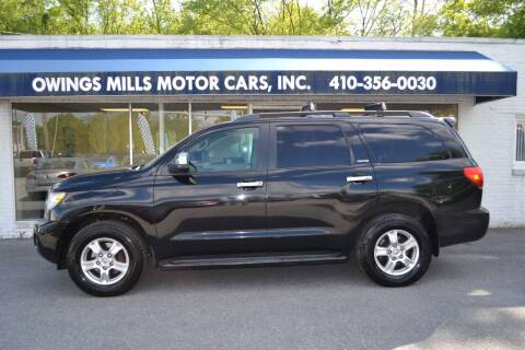 2008 Toyota Sequoia for sale at Owings Mills Motor Cars in Owings Mills MD