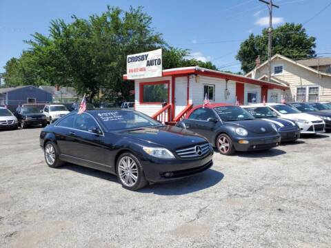 2008 Mercedes-Benz CL-Class for sale at Crosby Auto LLC in Kansas City MO