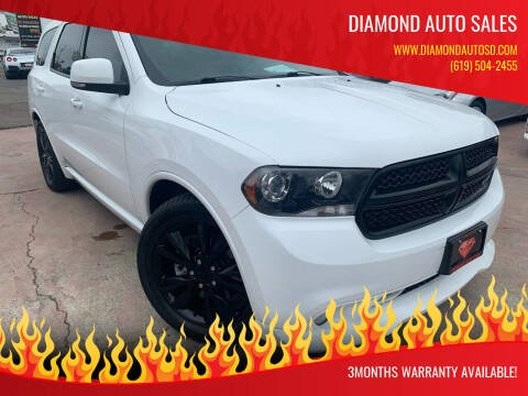 2013 Dodge Durango for sale at DIAMOND AUTO SALES in El Cajon CA
