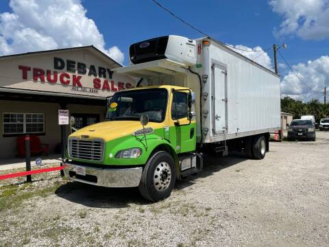 2015 Freightliner M2 106V REFRIGERATED for sale at DEBARY TRUCK SALES in Sanford FL