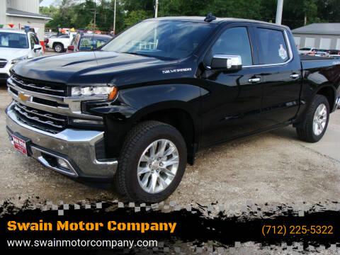 2019 Chevrolet Silverado 1500 for sale at Swain Motor Company in Cherokee IA