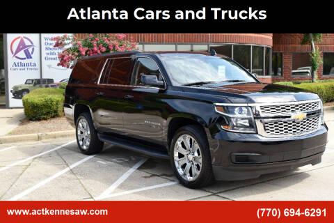 2017 Chevrolet Suburban for sale at Atlanta Cars and Trucks in Kennesaw GA