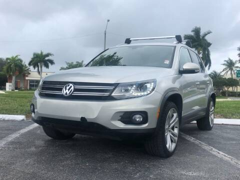 2013 Volkswagen Tiguan for sale at GERMANY TECH in Boca Raton FL