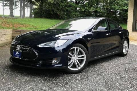 2013 Tesla Model S for sale at TRUST AUTO in Sykesville MD