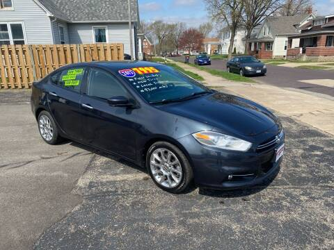 2013 Dodge Dart for sale at PEKIN DOWNTOWN AUTO SALES in Pekin IL