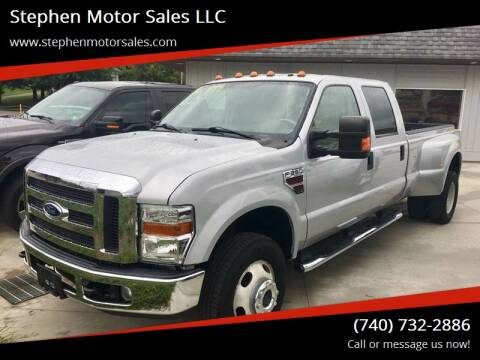 2008 Ford F-350 Super Duty for sale at Stephen Motor Sales LLC in Caldwell OH