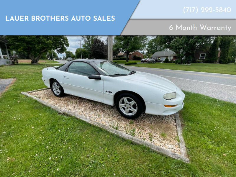 1999 Chevrolet Camaro for sale at LAUER BROTHERS AUTO SALES in Dover PA
