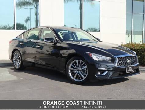 2021 Infiniti Q50 for sale at ORANGE COAST CARS in Westminster CA