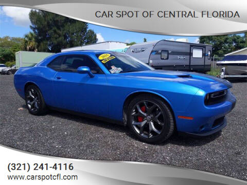 2016 Dodge Challenger for sale at Car Spot Of Central Florida in Melbourne FL