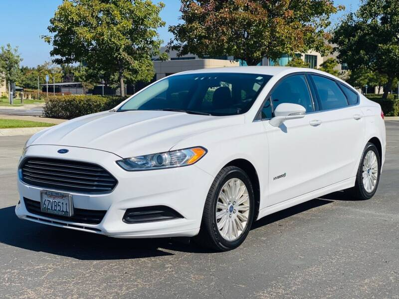 2013 Ford Fusion Hybrid for sale at Silmi Auto Sales in Newark CA