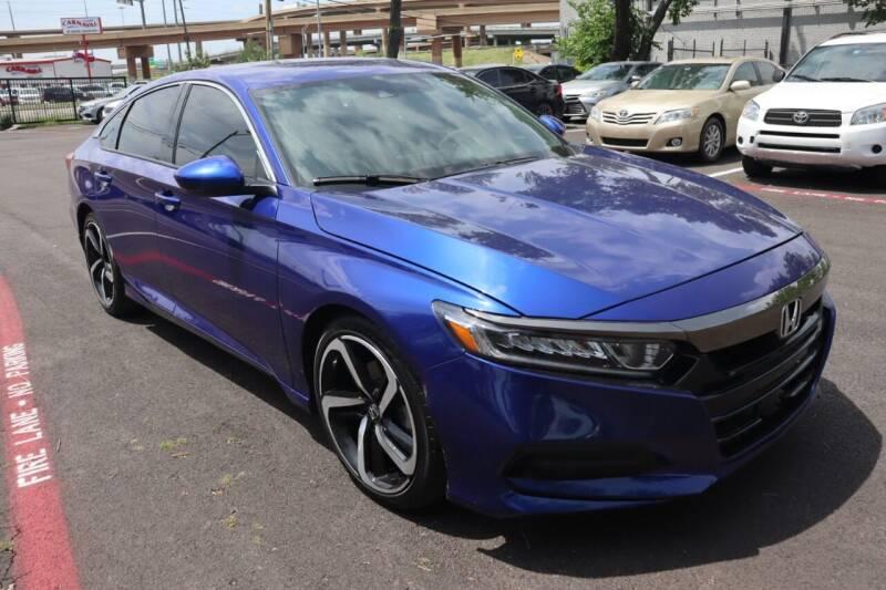 2019 Honda Accord for sale at Makka Auto Sales in Dallas TX