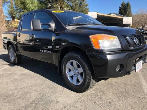 2008 Nissan Titan for sale at Martinez Truck and Auto Sales in Martinez CA