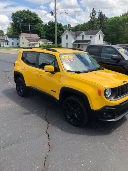2017 Jeep Renegade for sale at Austin Auto in Coldwater MI
