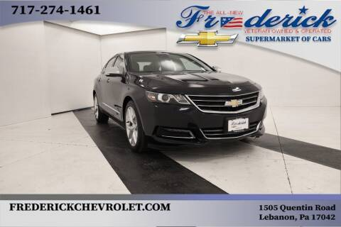 2016 Chevrolet Impala for sale at Lancaster Pre-Owned in Lancaster PA