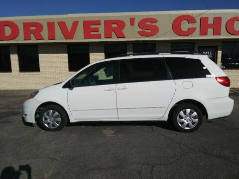 2009 Toyota Sienna for sale at Driver's Choice Sherman in Sherman TX