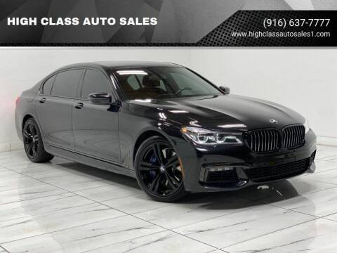 2017 BMW 7 Series for sale at HIGH CLASS AUTO SALES in Rancho Cordova CA