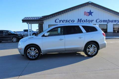 2009 Buick Enclave for sale at Cresco Motor Company in Cresco IA