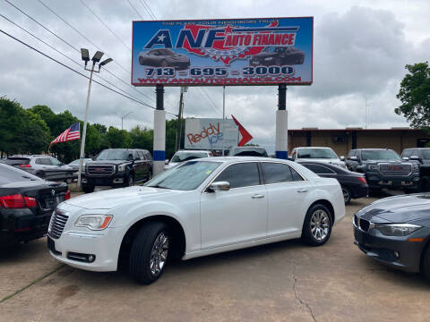2012 Chrysler 300 for sale at ANF AUTO FINANCE in Houston TX